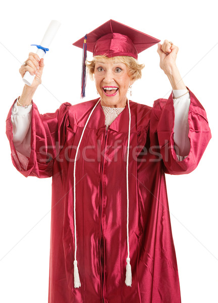 Senior Graduate - Thrill of Achievement Stock photo © lisafx