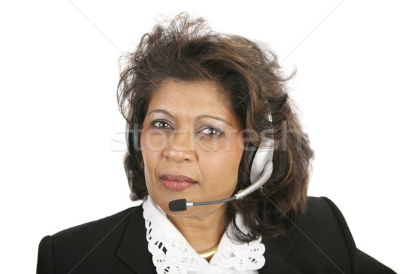 Caring Telephone Operator Stock photo © lisafx