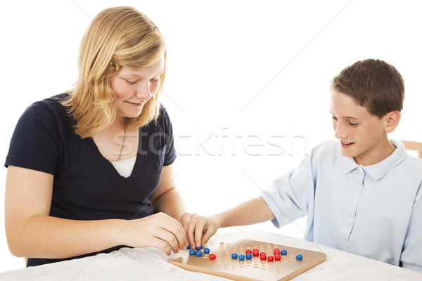 Stock photo: Chinese Checkers Game