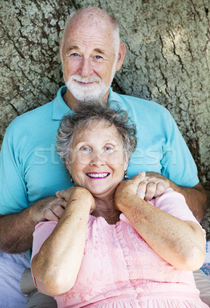 Senior Couple Relaxes Stock photo © lisafx