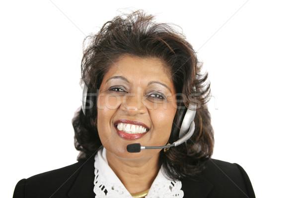 Indian Woman - Customer Service Stock photo © lisafx