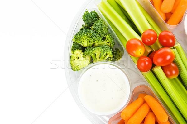 Raw Veggie Tray Stock photo © lisafx