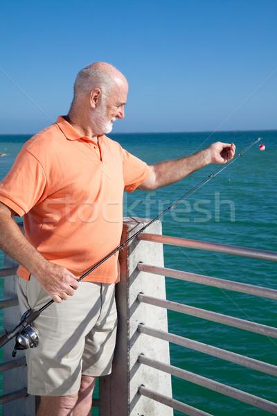 Ready to Bait Fishing Hook Stock photo © lisafx