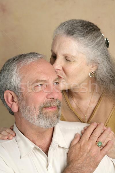 Tender Kisses Stock photo © lisafx