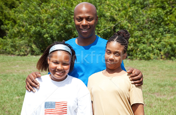 Happy African-American Family Stock photo © lisafx