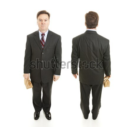 Businessman Front and Back Views Stock photo © lisafx