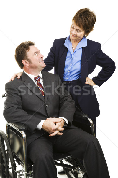 Disability in Business Stock photo © lisafx