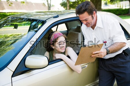 Driving Test - You Passed Stock photo © lisafx