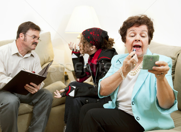 Family Counseling - Neglectful Stock photo © lisafx