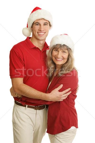 Proud Single Mom at Christmas Stock photo © lisafx