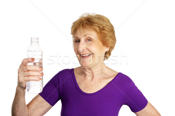 Senior Fitness - Thirsty Stock photo © lisafx