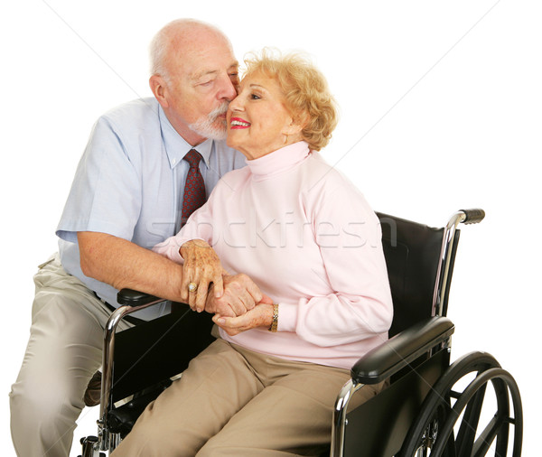 Seniors - Loving Gesture Stock photo © lisafx