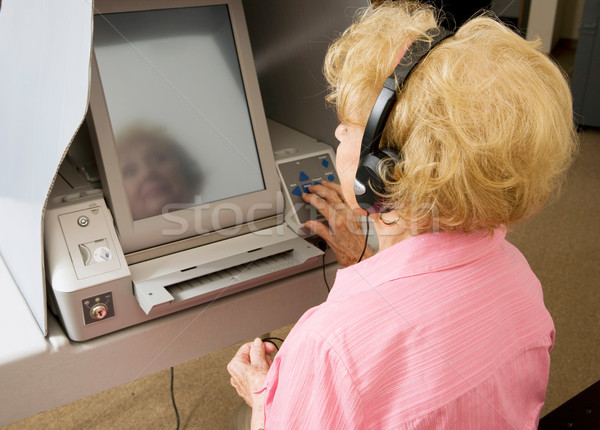 Voting For Vision Impaired Stock photo © lisafx