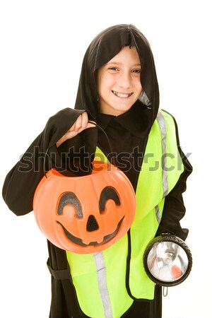 Little Trick or Treater Stock photo © lisafx