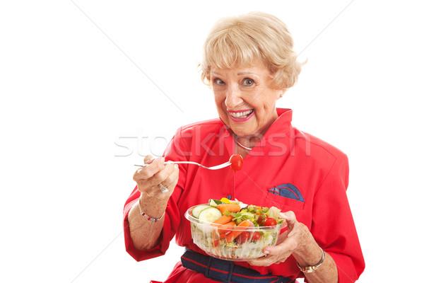 Senior Lady - Healthy Eating Stock photo © lisafx