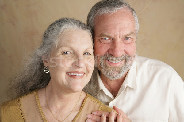 Boldogan házas portré vonzó középkorú pár Stock fotó © lisafx