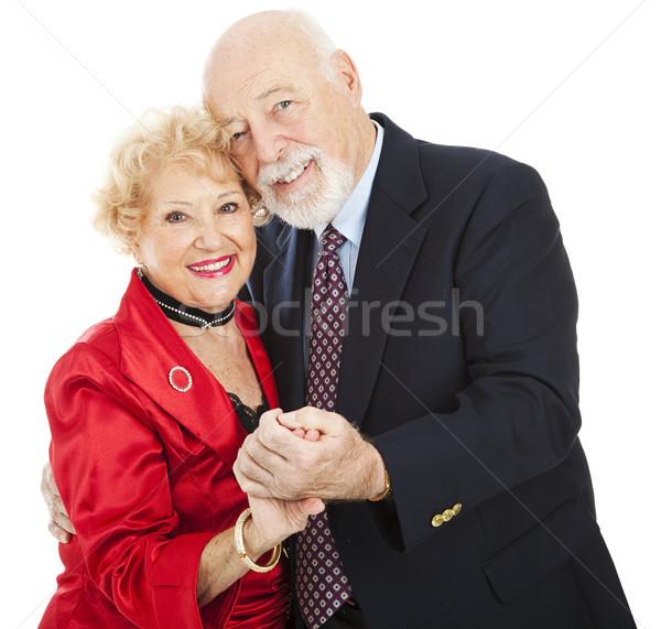 Romantischen Senior Tanz schönen Liebe Stock foto © lisafx