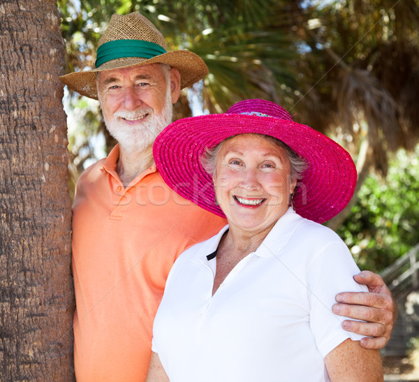 Summer Senior Couple Stock photo © lisafx