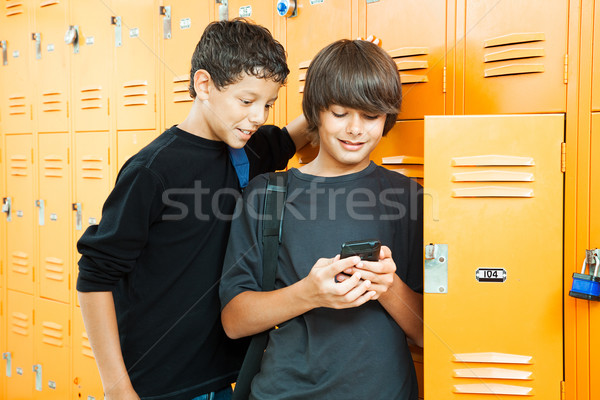 Video Game in School Stock photo © lisafx