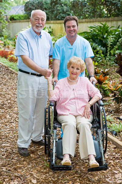 Assisted Living Stock photo © lisafx