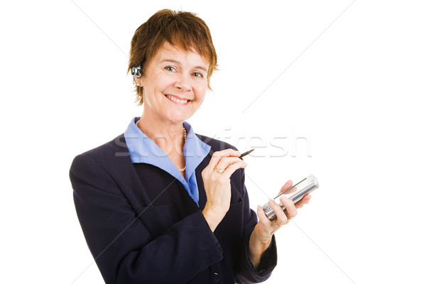 Mature Competent Businesswoman Stock photo © lisafx