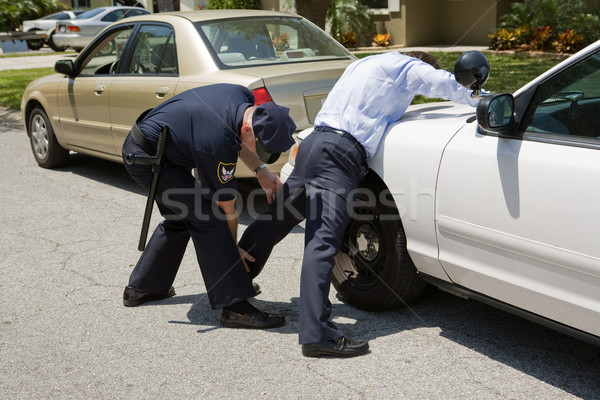 Police Pat Down Stock photo © lisafx