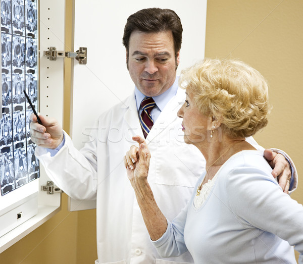Results of Cat Scan Stock photo © lisafx