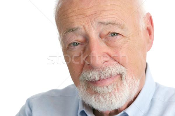 Senior Man - Wisdom Stock photo © lisafx