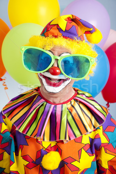 Humorous Birthday Clown Stock photo © lisafx