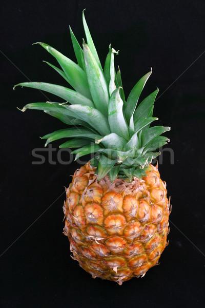 Pineapple on Black Stock photo © lisafx