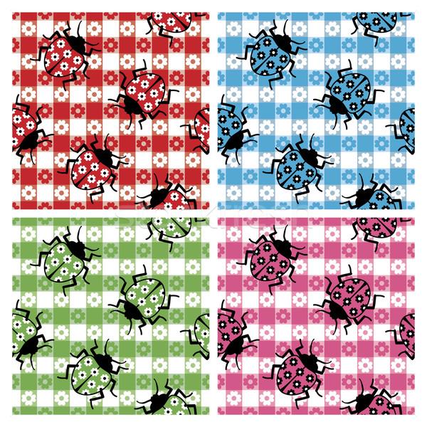 Camouflaged Ladybugs Stock photo © Lisann