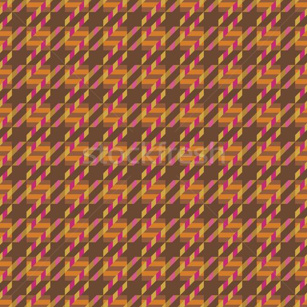 Tweed Texture in Orange Stock photo © Lisann