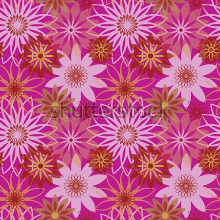 Bold Blossoms_Pink Stock photo © Lisann