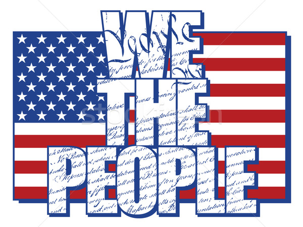 We The People Stock photo © Lisann