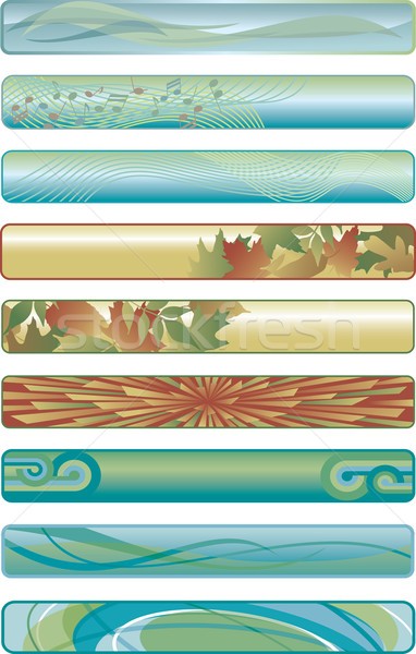 Assorted Web Banners Stock photo © Lisann