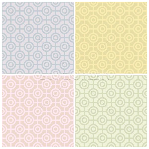 Bullseye Pattern in Pastels Stock photo © Lisann
