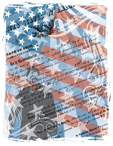Proud American Citizen Stock photo © Lisann