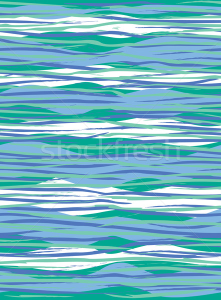 Modello onda blu abstract colore eps Foto d'archivio © Lisann