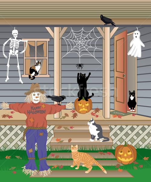 Halloween Cats Stock photo © Lisann