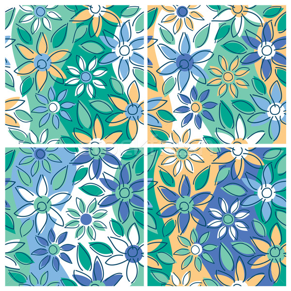 Free-Form Floral_Summer Stock photo © Lisann