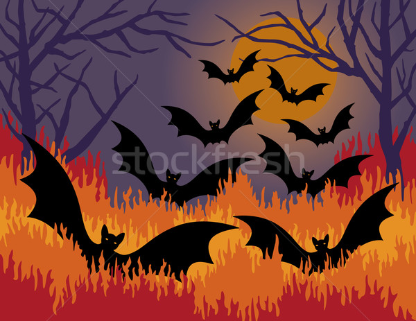 Bats Out of Hell Stock photo © Lisann