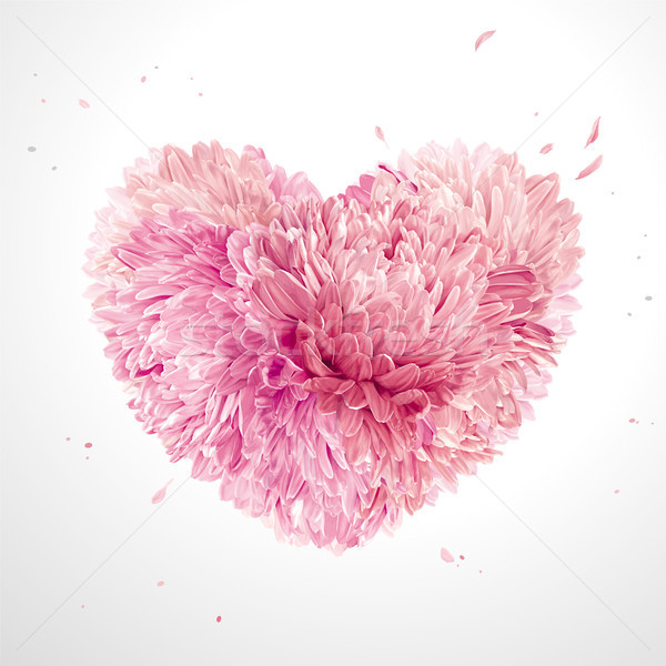 Flower Heart  for Valentine's Day Stock photo © LisaShu