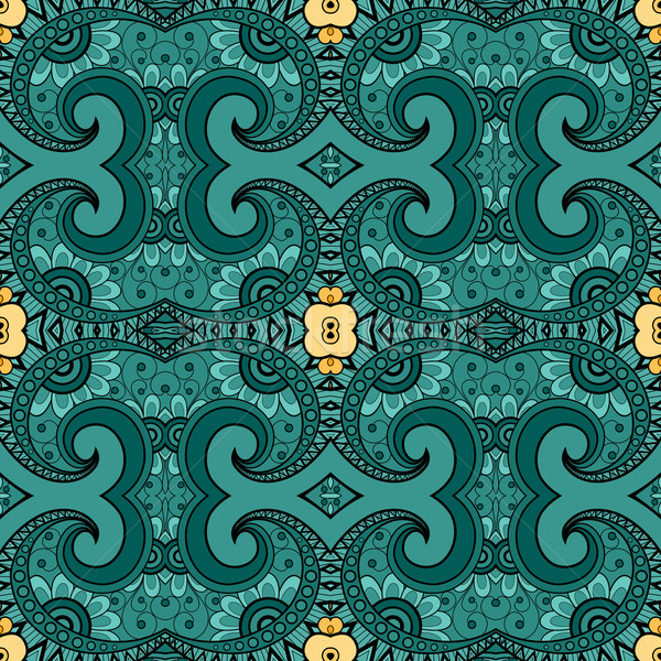 Vector Seamless Vintage Lace Pattern Stock photo © lissantee