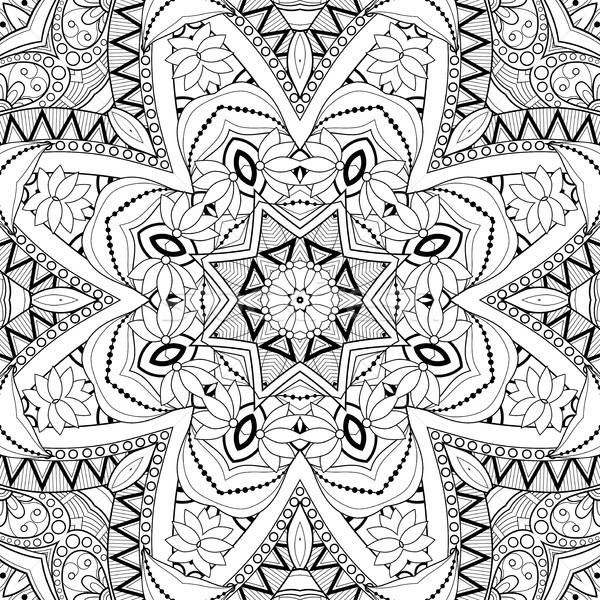 Vettore senza soluzione di continuità abstract bianco nero tribali pattern Foto d'archivio © lissantee