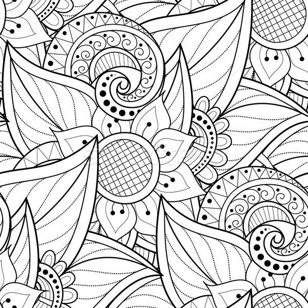 Stockfoto: Monochroom · motieven · oneindig · textuur
