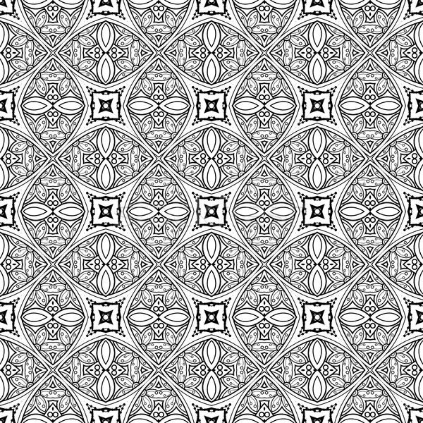 вектора бесшовный Vintage черно белые рисованной Сток-фото © lissantee