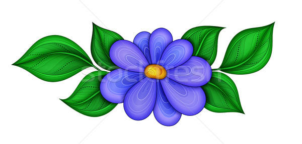 Vector Beautiful  Flower Stock photo © lissantee