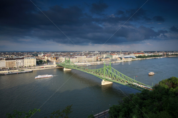 Liberty bridge Stock photo © LIstvan