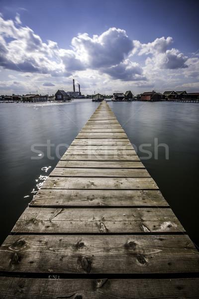 Pier Stock photo © LIstvan