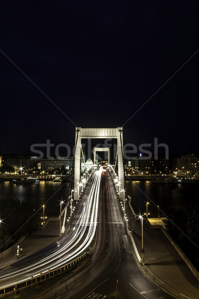Erzsebet bridge Stock photo © LIstvan